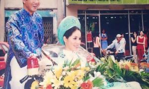 """MC Quyền Linh kỷ niệm 14 năm ngày cưới, nhắn nhủ vợ gây """"bão"""" mạng"""