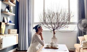 Đột nhập từng ngóc ngách trong căn hộ thuê của hoa hậu H'Hen Niê