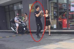 Liên Bỉnh Phát vướng tin đồn hẹn hò, tình tứ với cô gái lạ trên phố