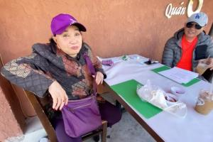 Nghệ sĩ cải lương Hồng Nga về nước sau một thời gian mắc kẹt ở Mỹ